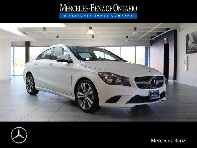 Certified Pre-Owned 2014 Mercedes-Benz CLA CLA250 Front Wheel Drive Sedan